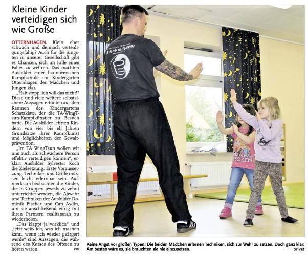 Leine Zeitungsbericht Neustadt 22.03.2016